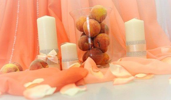 Нежный персик